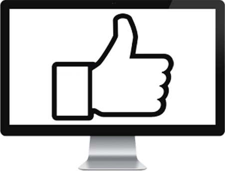 thumbs up Social Media