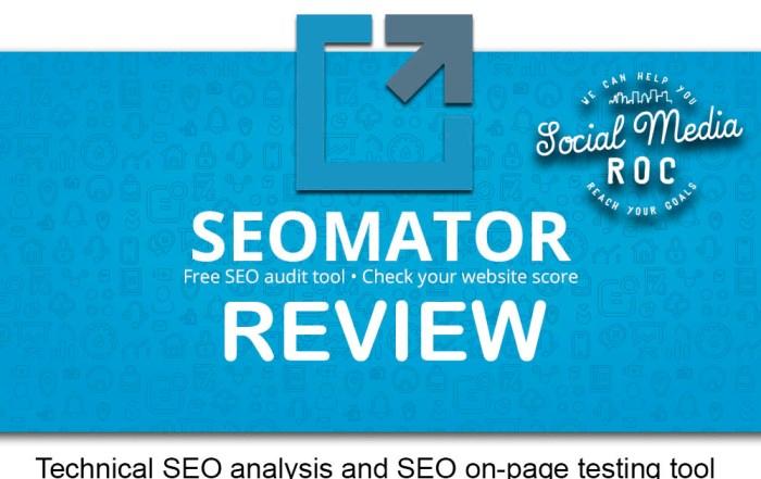 Seomator SEO tool review
