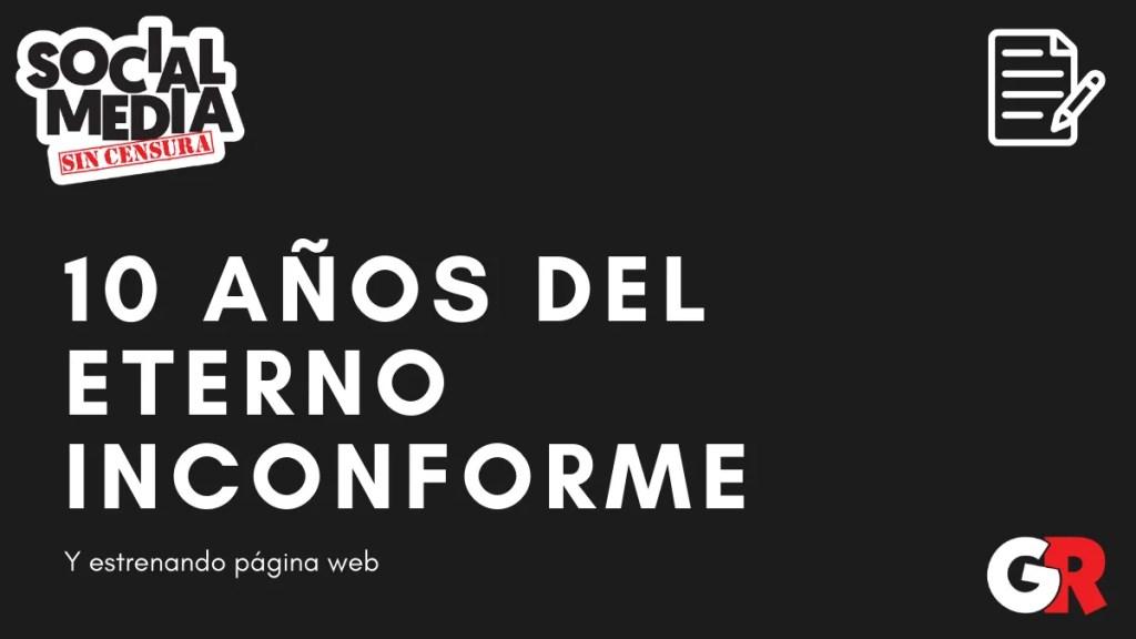 nueva web del eterno inconforme