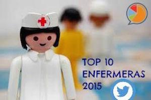TOP 10 ENFERMERAS TWITTER