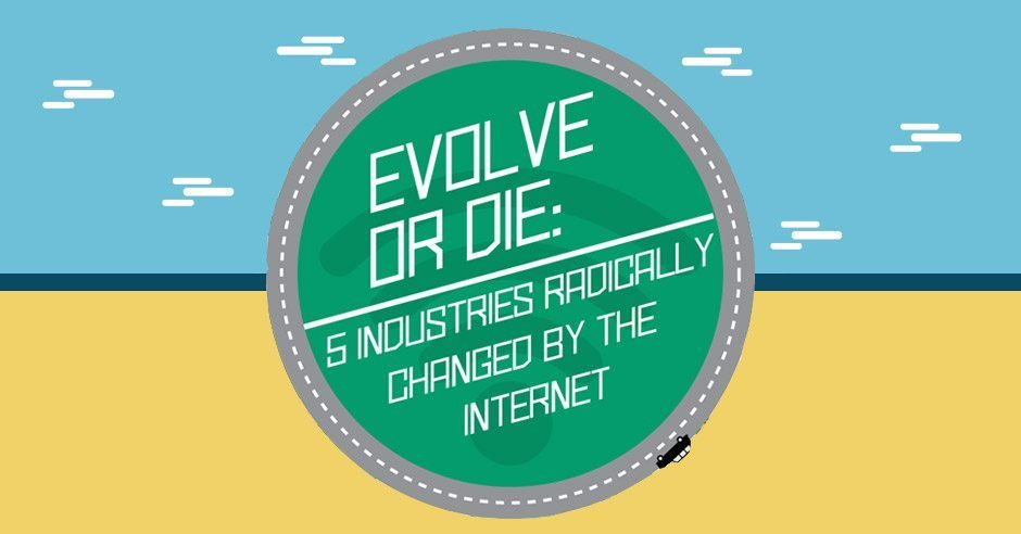 Evolve or Die: 5 Industries Radically Changed By The Internet