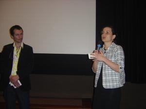 Georges da Costa (Autres Brésils) e Moema Salgado (Ano da França no Brasil - Cultures France)