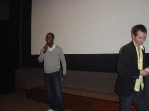 Sérgio Noukoué (Consulado da França) e Georges da Costa (Autres Brésils)