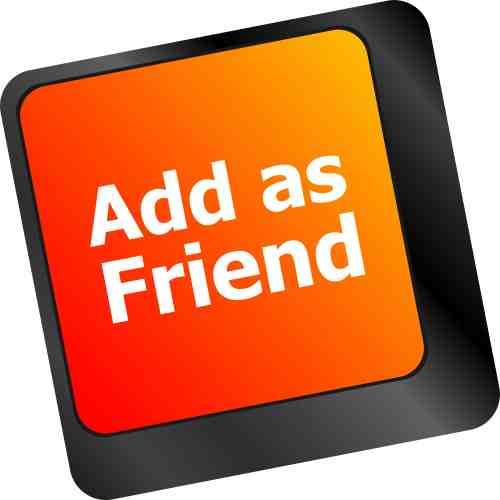 sending friend request on Facebook