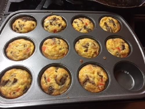 Whole30 daily log egg bake muffin tin