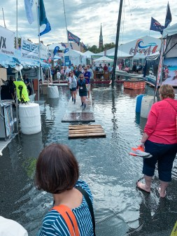 Flooding in the Show