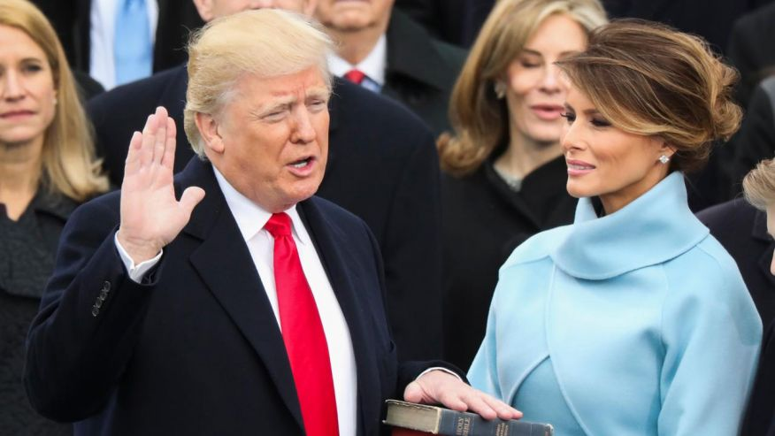 Donald Trump Inauguration Day Ceremony, USA 2017
