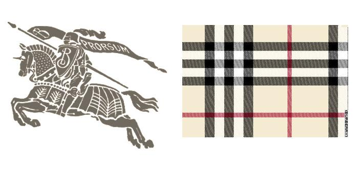 Breakable Marketing: Here is another prime example of a brand that relies on it's design more than it's logo. The Burberry logo (on left) is weak in terms of neuromarketing compared to the classic Burberry plaid design. This plaid design is versatile and can be woven into the fabric of the clothes to create a concrete perception that moves beyond logos. Break the plaid design into pieces and you've still got something that recognizalby Buberry.