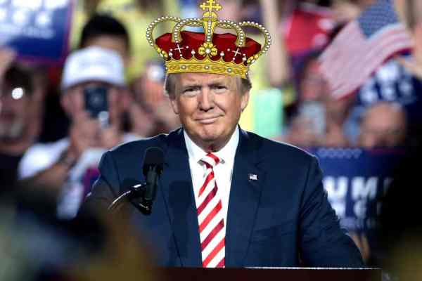 King Trump Plans To Get Himself Off If Convicted