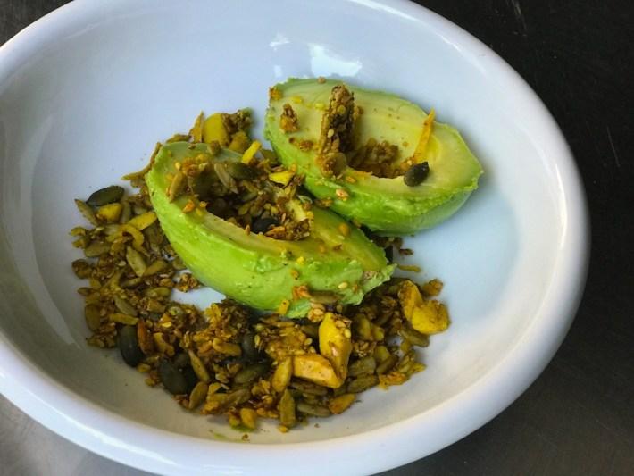 avocado granola