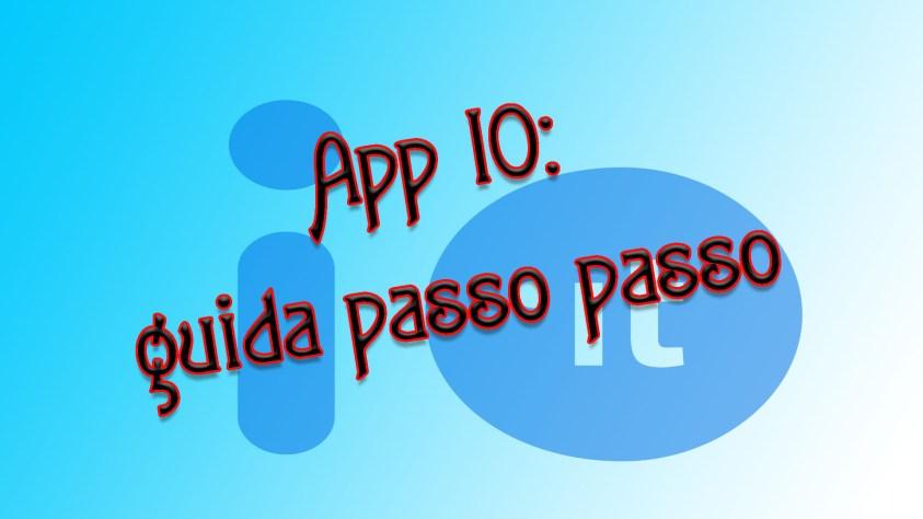 App IO: guida passo passo
