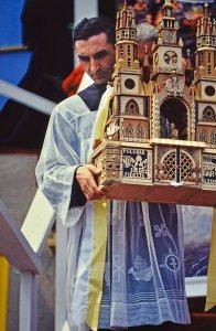 Giovanni Paolo II in Polonia.