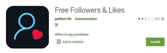 Abonnés gratuits -comme-Instagram-app