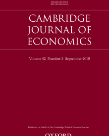 "Cambridge Journal of Economics (2018) — Clara Mattei, ""Treasury View and Post-WWI British Austerity: Basil Blackett, Otto Neimeyer and Ralph Hawtrey"""
