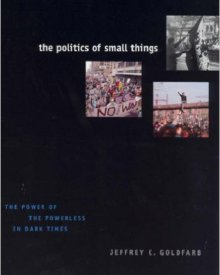 Jeffrey Goldfarb (2006) — The Politics of Small Things