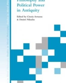 Cinzia Arruzza (2016) – Philosophy and Political Power in Antiquity