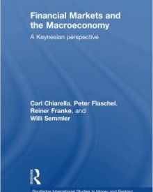 Willi Semmler, Carl Chiarella, Peter Flaschel, and Reiner Franke  (2009) — Financial Markets and the Macroeconomy: A Keynesian Perspective