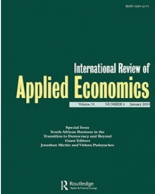 "International Review of Applied Economics (2018) — Ying Chen, ""Renewable Energy Investment and Employment in China"""