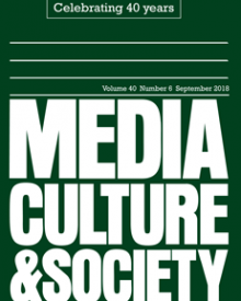 "Media, Culture, and Society (2017) — Julia Sonnevend, ""Media events today."""