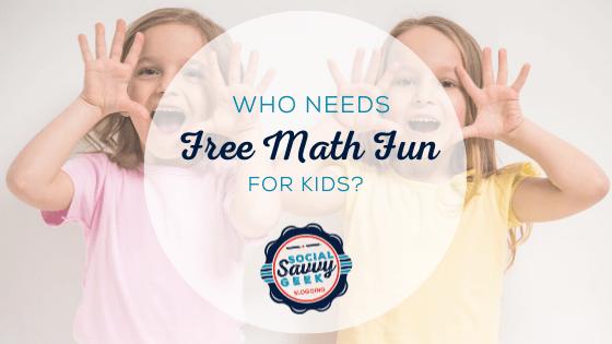 Who Need Free Math Fun For Kids_