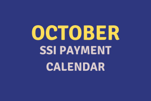 """""""October 2020 SSI Payment Schedule"""""""