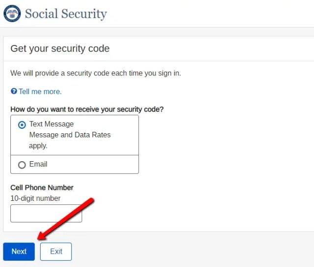 Security Code Verification