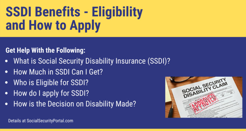 """SSDI Benefits Eligibility and How to Apply"""