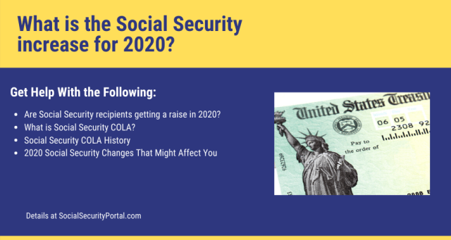 """Social Security COLA Increase"""