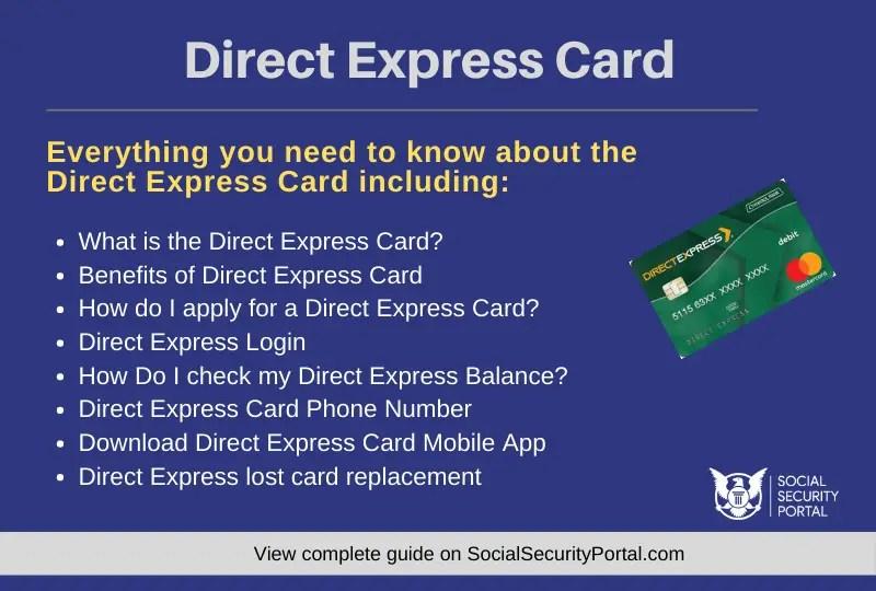 """Direct Express Card"""