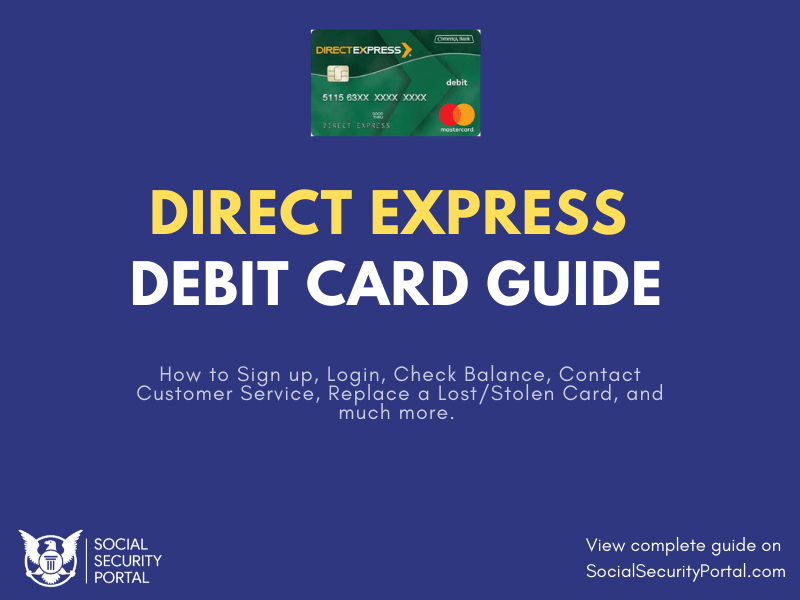 """Social Security Direct Express Debit Card Guide"""