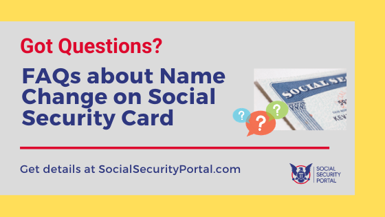 """Can I change my name with social security online"""