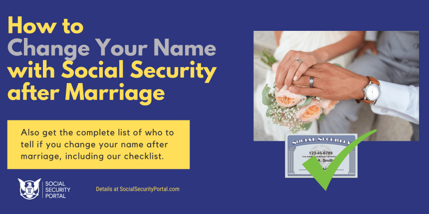 """How to Change Your Name with Social Security after Marriage"""