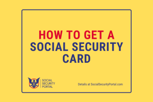 """Social Security Card Application"""