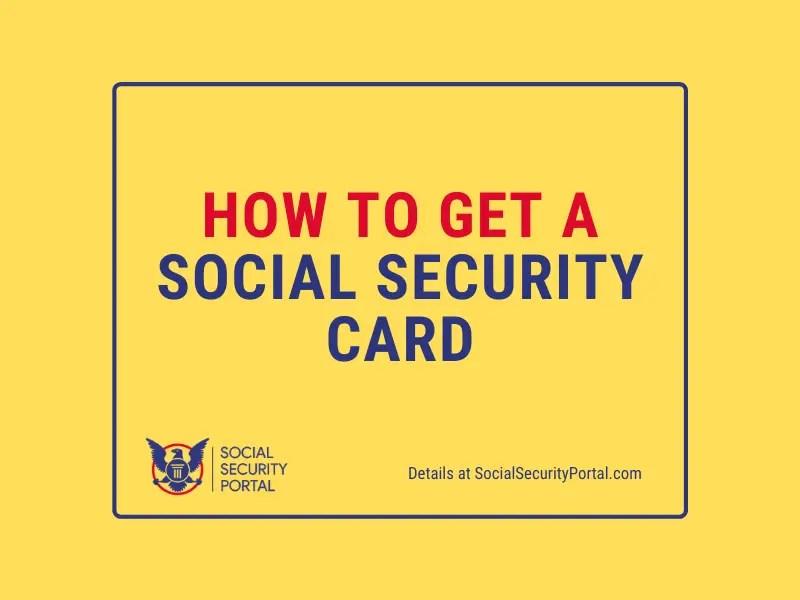 """Social Security Card Application"""
