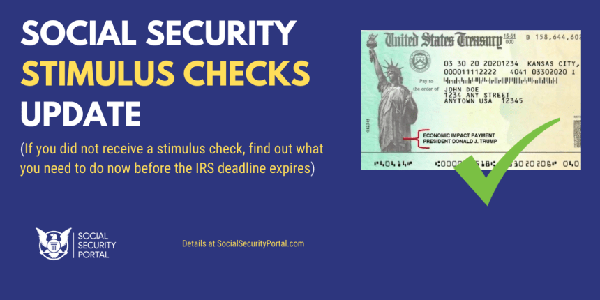 """Social Security Stimulus Checks"""