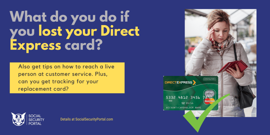 """What to do about Lost Direct Express Card"""