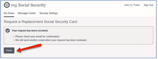 """""""Get a Replacement Social Security Card 3"""""""
