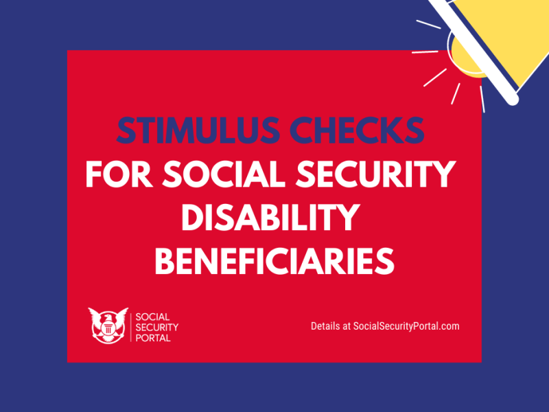 """""""Stimulus Check for Social Security Disability"""""""
