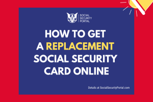"""Can I request a replacement Social Security card online"""