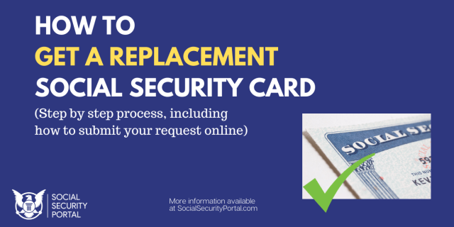 """""""How to get a Replacement Social Security Card"""""""