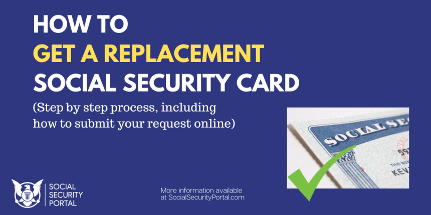 """How to get a Replacement Social Security Card"""