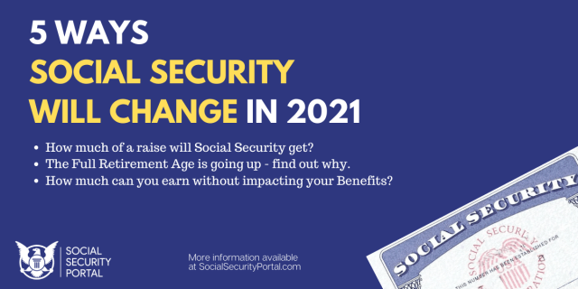 """""""5 Ways Social Security Will Change in 2021"""""""