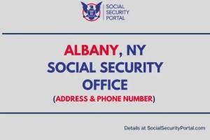 """""""Albany NY Social Security Office"""""""