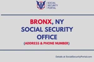 """""""Bronx NY Social Security Office"""""""