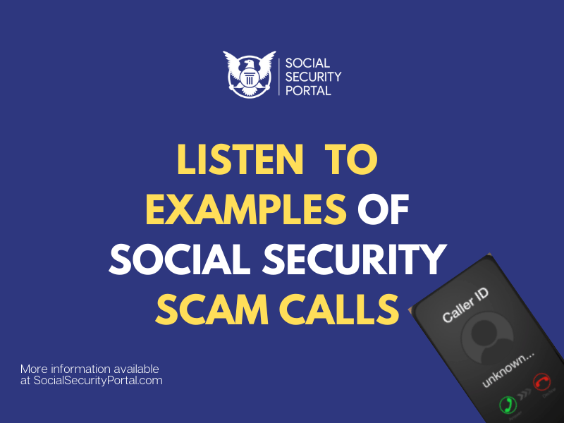 """""""How do I know if Social Security is calling me"""""""