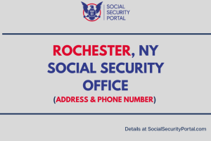 """Rochester NY Social Security Office """