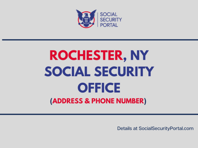"""""""Social Security Office - Rochester New York"""""""