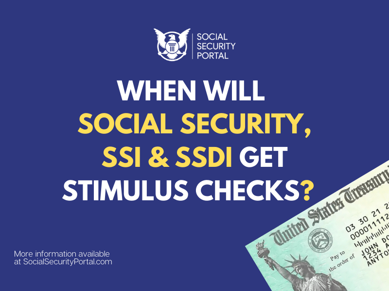 """""""When will Social Security Get Stimulus Check"""""""