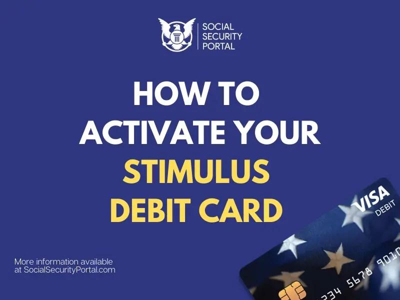 """""""Activate Stimulus Debit Card"""""""