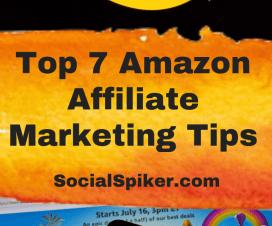 Amazon Affiliate Marketing Tips Graphic